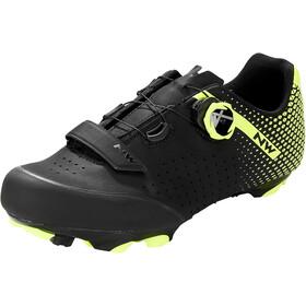 Northwave Origin Plus 2 Schuhe Herren schwarz/gelb